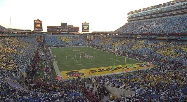 ... and this is what Sun Devil Stadium became: the host of a Super Bowl (XXX, in 1996). What man is responsible for this, more than anyone else? Frank Kush.