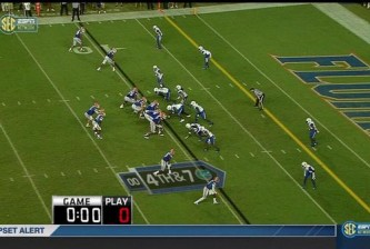 CFB Kentucky play clock