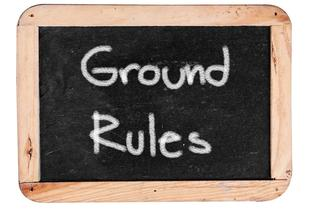"See this sign? ""Ground rules"" are going to be different in each poll method you see. You don't have to agree with each poll, but the ground rules are what they are. If you don't like the ground rules, make your own poll. Just respect the fact that each poll maker will use a different system to arrive at each week's results. Moreover, it's not as though this week's poll is going to determine who makes the College Football Playoff, anyway... SO SETTLE DOWN! It's only September 2, for the love of all that is holy!"