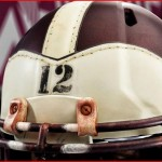 A&M helmet