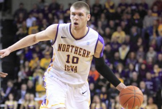 Northern Iowa's Seth Tuttle