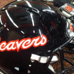 Oregon State football helmet debuting in spring 2015. Photo credit: @Beavers_EQ on Twitter.