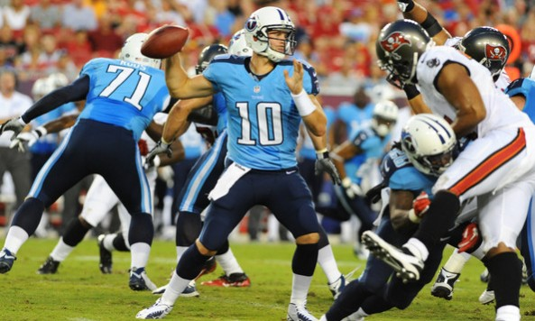 Jake Locker First Preseason Start