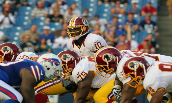 Robert Griffin III Preseason Debut