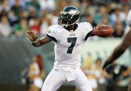 Michael Vick Throwing