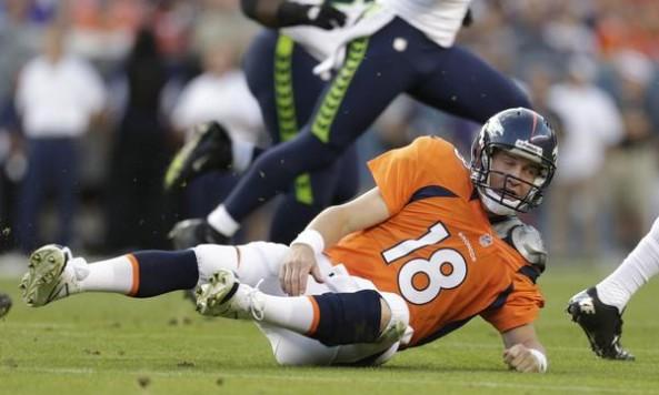 Peyton Manning Hit