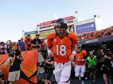 Peyton Manning Tunnel Broncos
