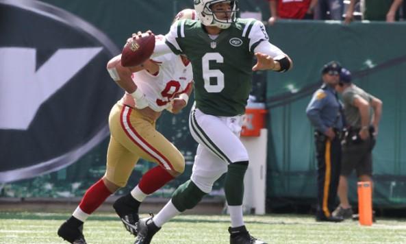 Sanchez Scrambles Jets 49ers