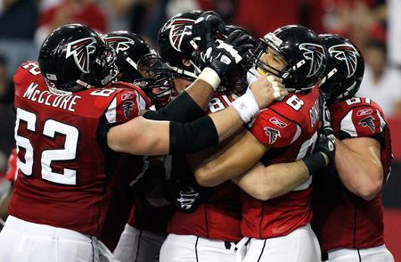 Falcons Celebrate