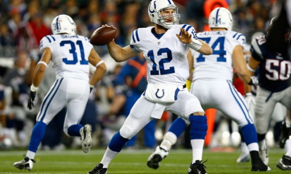 Andrew Luck Throwing Motion