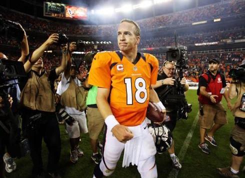 Peyton Manning Postgame