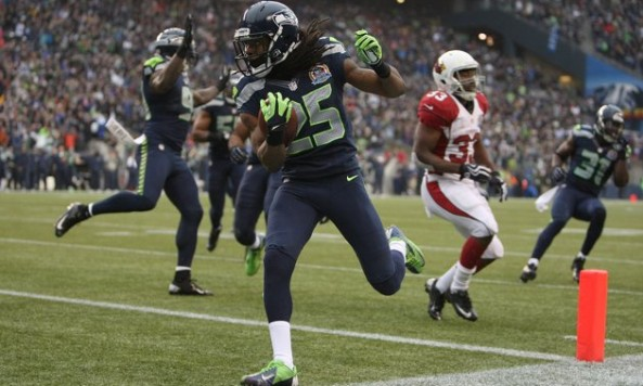 Richard Sherman Touchdown