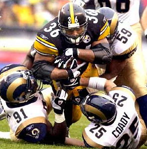 Jerome Bettis Pile