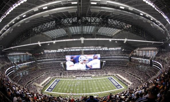 Cowboys Stadium Scoreboard