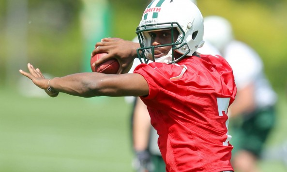 Geno Smith OTAs
