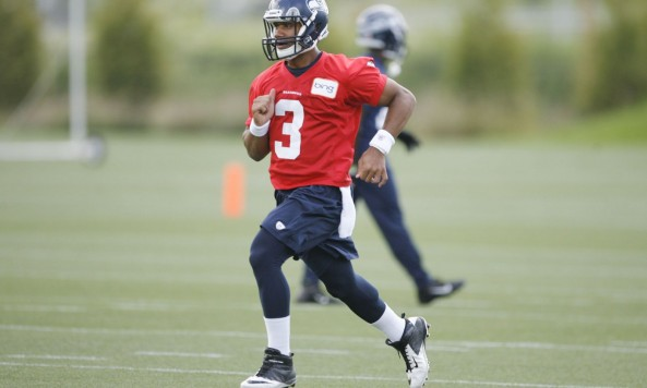 Russell Wilson Mini Camp