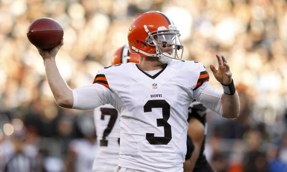 Brandon Weeden Throw