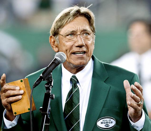 The Jets Need Support From Joe Namath Not Endless Stream