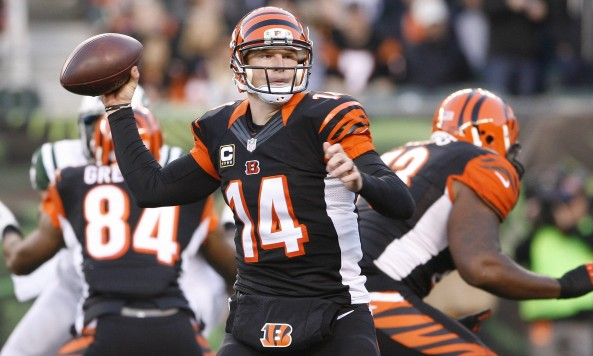 Andy Dalton Throwing