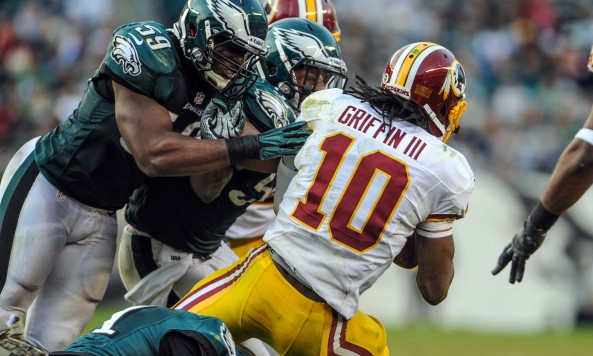 Robert Griffin III Sack