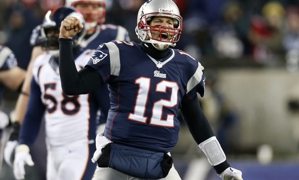 Tom Brady Fist Pump