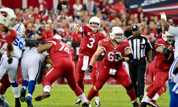 Carson Palmer vs Colts Throwing