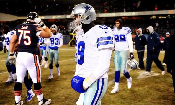 Tony Romo Disappointing Loss Bears