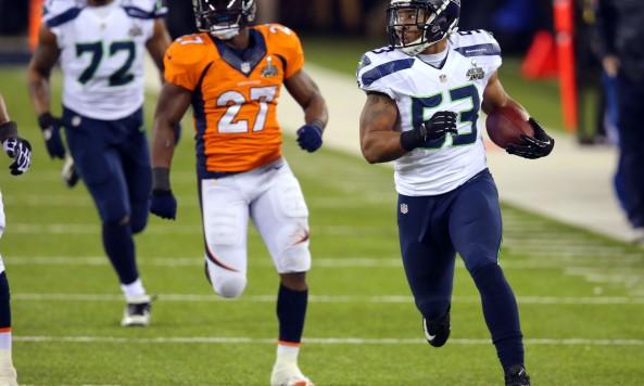 Malcolm Smith Interception Return Super Bowl XLVIII