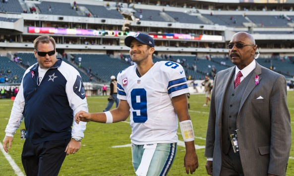 Tony Romo Eagles Loss