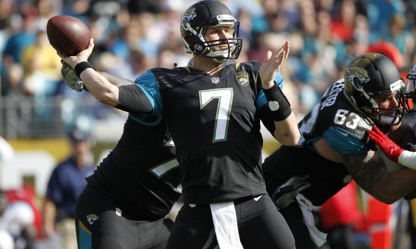 Chad Henne Jaguars Throwing Motion