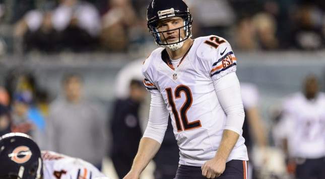 Josh McCown Pre-snap Bears
