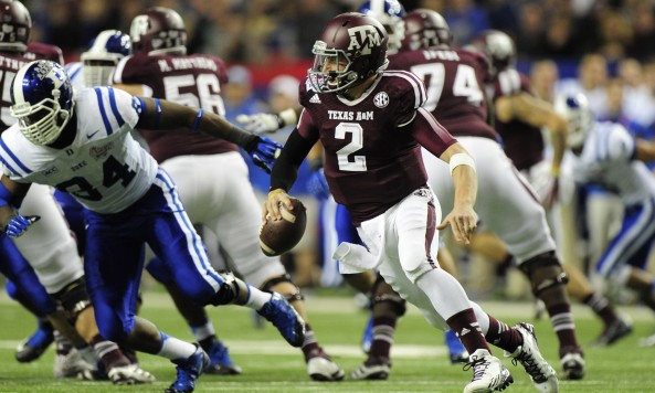NCAA Football: Chick-fil-A Bowl-Duke vs Texas A&M