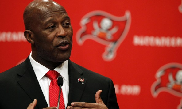 NFL: Tampa Bay Buccaneers-Lovie Smith Press Conference