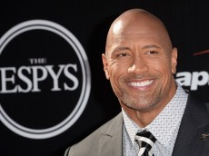 LOS ANGELES, CA - JULY 16:  Actor Dwayne Johnson attends The 2014 ESPYS at Nokia Theatre L.A. Live on July 16, 2014 in Los Angeles, California.  (Photo by Jason Merritt/Getty Images)
