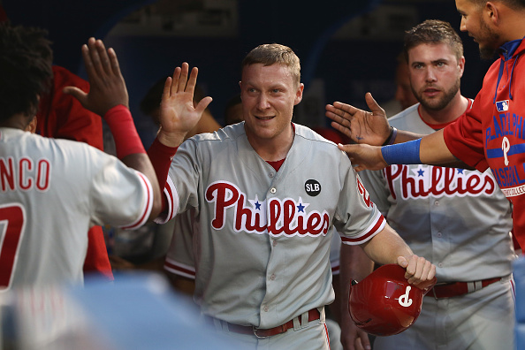 Philadelphia Phillies v Toronto Blue Jays