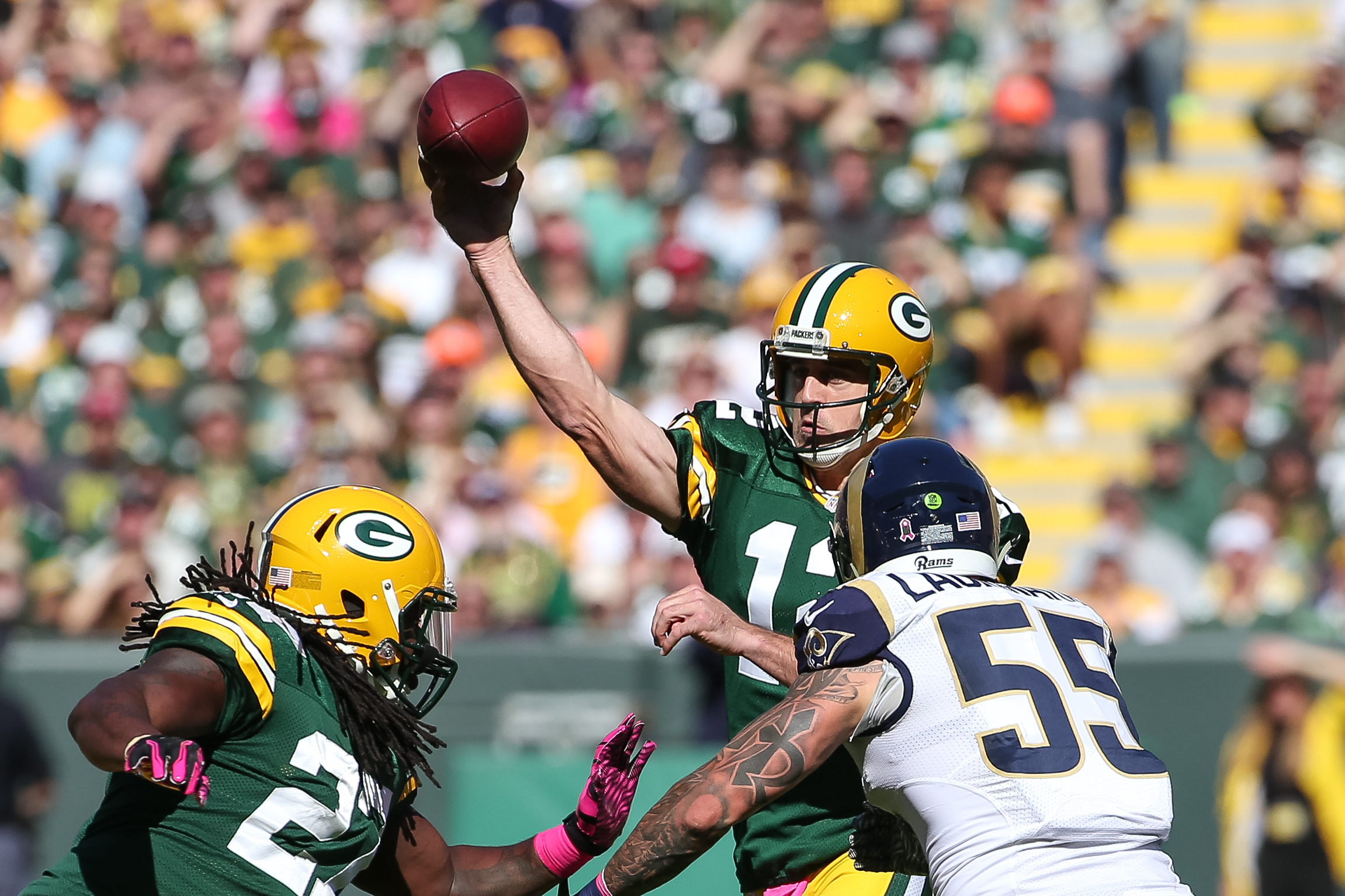 St Louis Rams v Green Bay Packers