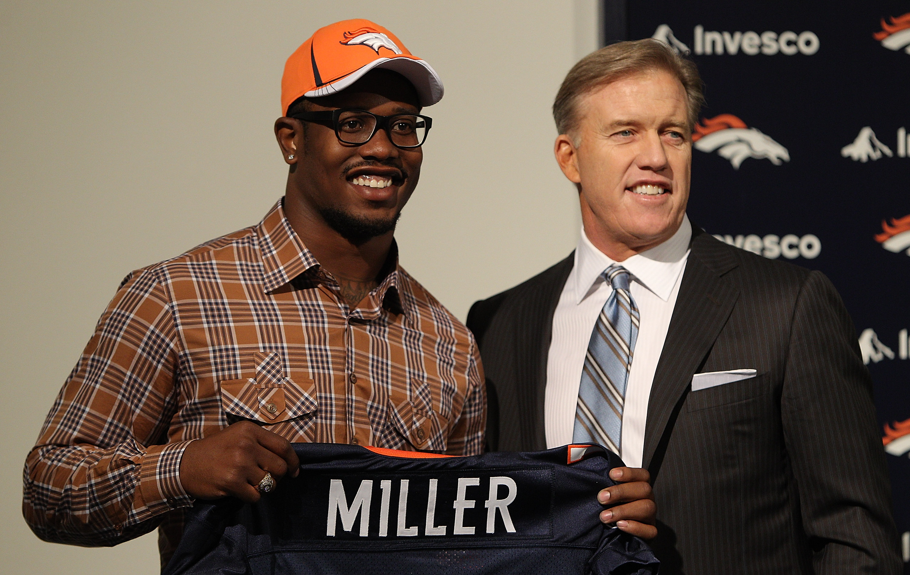 Denver Broncos Introduce First Round Draft Pick Von Miller