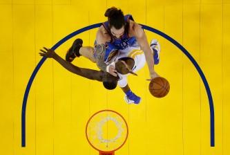 Oklahoma City Thunder v Golden State Warriors - Game One