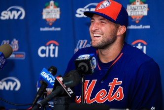 Tim Tebow Media Availability