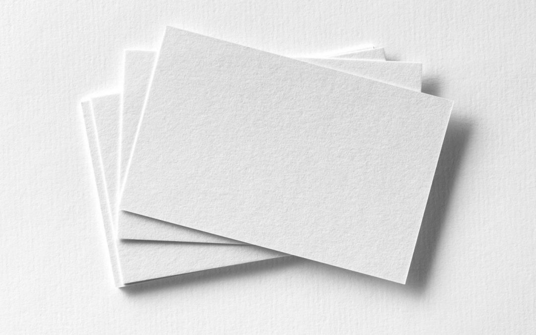 What Makes a Good Business Card: Designs that Get Noticed