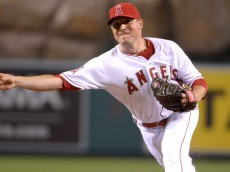 MLB: Cleveland Indians at Los Angeles Angels