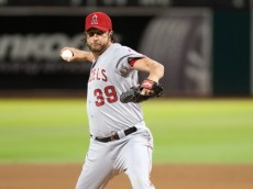 MLB: Los Angeles Angels at Oakland Athletics