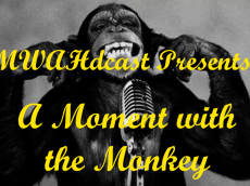 moment with the monkey