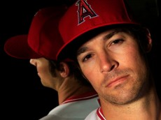 TEMPE, AZ - FEBRUARY 21:  Pitcher C.J. Wilson #33 poses during the Los Angeles Angels of Anaheim Photo Day on February 21, 2013 in Tempe, Arizona.  (Photo by Jamie Squire/Getty Images)