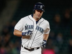 SEATTLE, WA - SEPTEMBER 14:  Seth Smith #7 of the Seattle Mariners rounds the bases after hitting a two-run homer against the Los Angeles Angels of Anaheim in the second inning at Safeco Field on September 14, 2015 in Seattle, Washington.  (Photo by Otto Greule Jr/Getty Images)