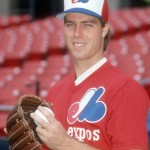 UNSPECIFIED - CIRCA 1989: Pitcher Mark Langston #12 of the Montreal Expos poses for this photo before a Major League baseball game circa 1989. Langston  played for the Expos in 1989. (Photo by Focus on Sport/Getty Images)