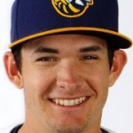 Zach Welz as a member of the Burlington Bees.