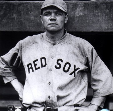 AAHG191_8x10Babe-Ruth-Red-Sox-Posters