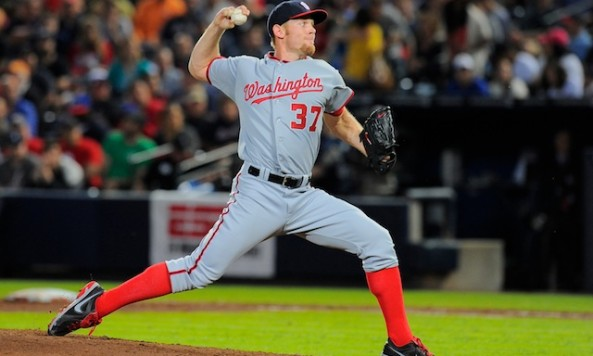MLB: Washington Nationals at Atlanta Braves
