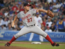 Jordan Zimmermann's slider is the key to his success.